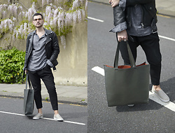 Gerard Molón - Asos Oversized Tote Bag - OUTFIT TRANSITION INTO SPRING