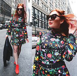 Trixie Belle (instagram = TRIXANDTHECITY) - Stylewe Dress - BOTANICAL
