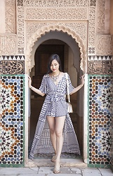 Tina Lee -  - Tile Prints and Maxi Rompers