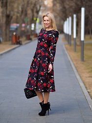 Marina Skater - Belucci Dress - Belucci flower dress