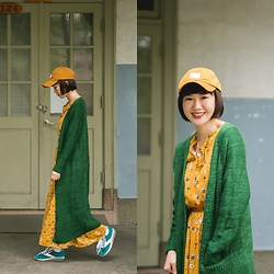 Crystii Lin -  - FOREST GREEN x MUSTARD