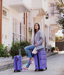 Viktoriya Sener - American Tourister Suitcases - READY FOR VOCATION