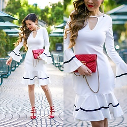 Sasa Zoe - Only $23 Dress, Earrings, Clutch, Heels - THE CUTEST LWD FOR $23