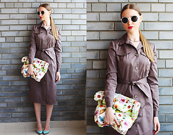 Victoria Martinova - Handmade Raincoat, Handmade Bag - May