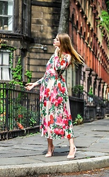 Julia - Vipme Dress, Aldo Heels - Fresh blooms