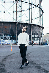 Arttu Mustonen - H&M Edit Blouse, Weekday Pants - Inspiration Blog Awards