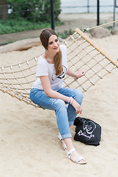 Andrea Funk / andysparkles.de - Marc Aurel Jeans, Emu Sandals - Casual Look with Marc Aurel Jeans