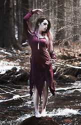Joan Wolfie - Altshopuk Dress - Pagan girl