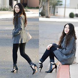 Xaydy Gambino - Zara Black Boots, More On - A cold spring