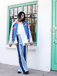 Day Ji - Rocket Lunch Jacket, Nasty Habit Shirt, Rocket Lunch Jeans - @SUPY