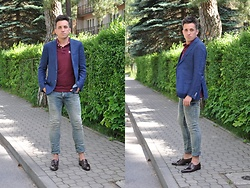 Pawel - Ermenegildo Zegna Blazer, Philipp Plein Jeans, Ruehl No.925 Polo, Hugo Boss Shoes - May