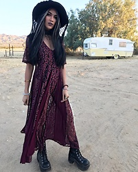 Paris Sinclair - Demonia Boots - Desert witch