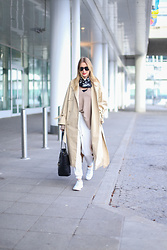 MOD - by Monique - Christian Dior Scarf, Edited The Label Trenchcoat, Isabel Marant Sneakers - The Mackintosh