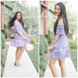 Kimberly Kong - Asos Gingham Dress - For Lovers of Gingham