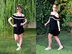 Burcu Arkut - Sammydress Dress, Asos Shoes - Off The Shoulder
