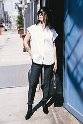URBAN CREATIVI-TEA - Céline Sunglasses, Zara Shirt, Acne Studios Pants, Givenchy Bag, Balenciaga Shoes - Sunday Style & Williamsburg / urbancreativi-tea