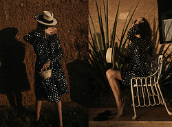 Bea G - Dress, Bag, Hat - Under Moroccan Sun