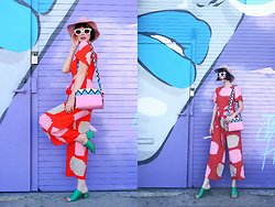 Amy Roiland - Prada Bag, Mister Zimi Jumpsuit - Art and Fashion