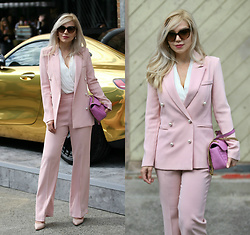 Scarlett Vargas - Storets Suit, Gucci Bag - Power Suit