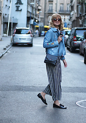 Ana Vukosavljevic - Zaful Jacket, Picard Bag, Vintage Palazzo Pants, Raxmax Loafers, H&M Bandana, Accessoryo Sunglasses - Little Bit From Everything