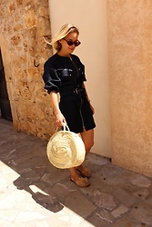 Anna Borisovna - Mango Dress, Mango Sunglasses, Zara Shoes - Summer dress