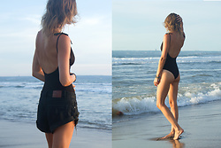 Alison Hutchinson - Alice And Eve Swimsuit, One Teaspoon Shorts - From Beach to Sunset