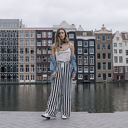 Jamie L ♡ - The Sting Top, Minimum Pants, Sacha Shoes Boots, Jeans Intelligence In Tilburg Jacket - When in Amsterdam