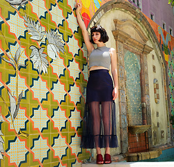 Amy Roiland - Storets Skirt - Mules and Murals