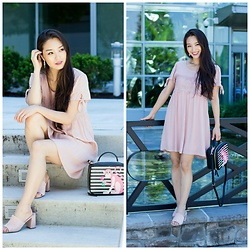 Kimberly Kong - Almost Famous Blush Shift, Amiclubwear Slip Ons - Boo's Bday Gift to Me + Bamf $12.99 Slip-ons