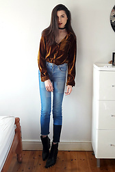 Georgia X - Dresslily Shirt, Zara Jeans - Bad habit
