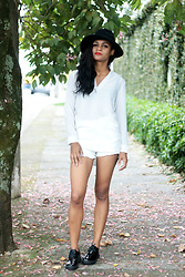 Siça Ramos - Lightinthebox Shirt, Lightinthebox Short, Dresslily Shoes, Zaful Hat - Fedora