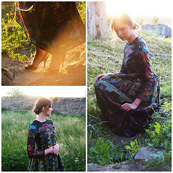 Anna Sitek - Zaful Dress - Vintage dress