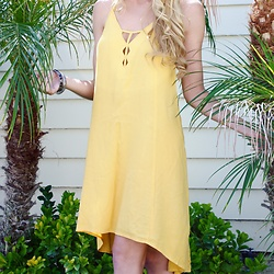 HER. Boutique - Her. Boutique Made The Cut Yellow Slip Dress - Flirty Yellow Dress