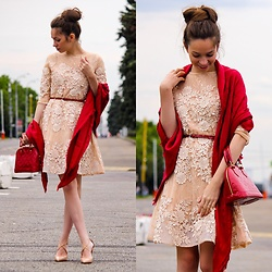 Retuksa - Vipme Dress - Vipme apricot dress