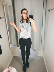 Elisa B. - Primark Skinny Jeans, Lefties Cloudy Top - 13.06.17