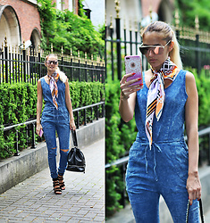 Ruxandra Ioana - Gamiss Jumpsuit, Gamiss Sunnies, Sam Edelman Sandals, Lightinthebox Iphone Case - Bon Appetit !