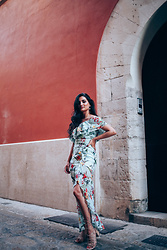 Merna Mariella -  - Floral maxi dress