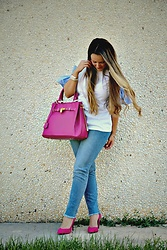 Emma MAS - The Fashion Corner Bag - Fuchsia bag
