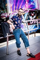 David Fernandez - Viu Glasses, Paul Smith Shirt, Topman Jean, Zing Studio Shoes - MANBOX