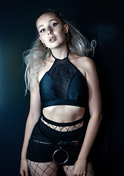 Darina David - Disturbia Top, C&A Belt - Edgy for the win