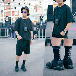 GoodHow L. - Nike Air Rift, Ricoh Camera - Music Festival In ChiaYi,Taiwan