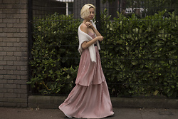 Magdalena M - Reserved Dress - Dusty pink dress