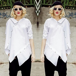 Lara Popa - Teyxo White Shirt - Urban White