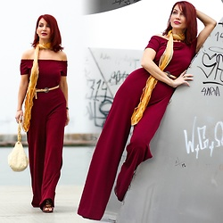 Redhead Illusion by Menia - Lulu*S Jumpsuit - There are colors so sweet, you really want to drink them...!