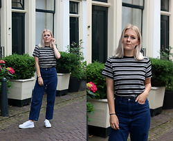 Manon Dijkhuizen - Cos Jeans - Walking around Haarlem