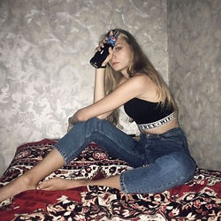 Dasha - Zara Jeans, Pull & Bear Top - Back in the USSR