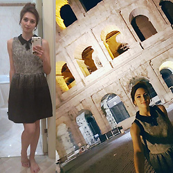 Noemi Aresti -  - My favourite look while in Rome