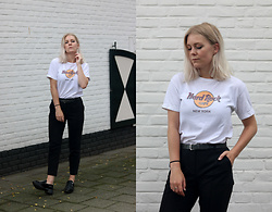 Manon Dijkhuizen - Vintage T Shirt, Zara Shoes - Another Week, Another Outfit
