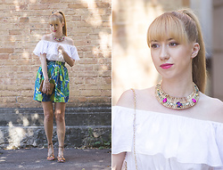 Julia F. - Stradivarius Straw Necklace, Asos Sandals - Like on vacation