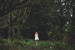 ♡Anita Kurkach♡ - Shein White Dress - Girl & Nature